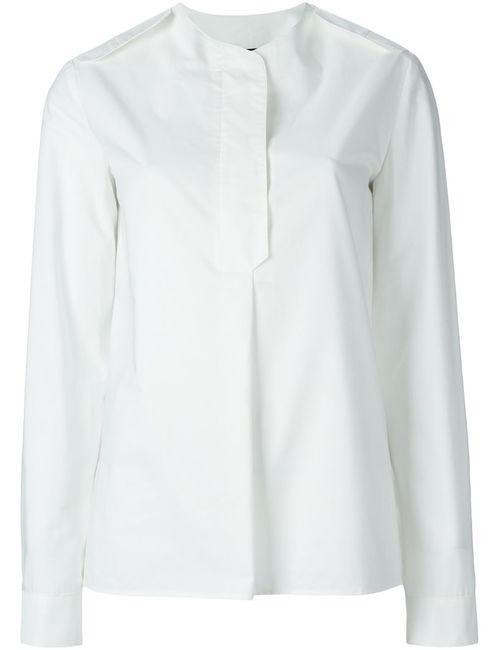 Ter Et Bantine | Женская Белая Рубашка Без Воротника