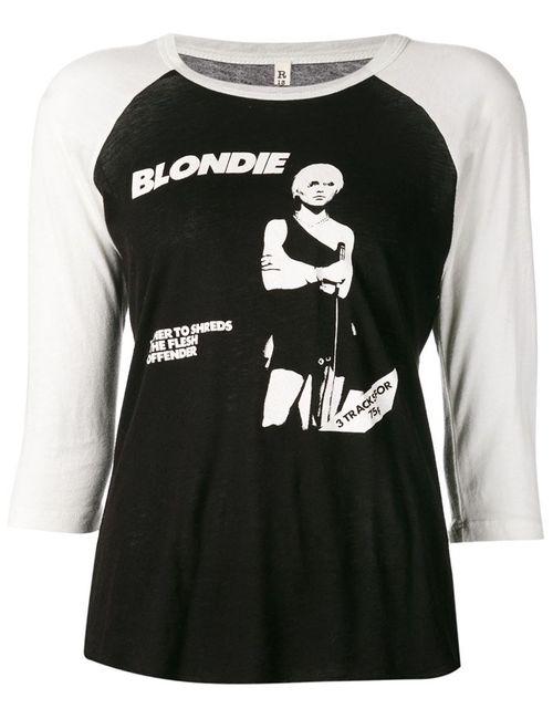 R13 | Женское Чёрный Debbie Concert T-Shirt