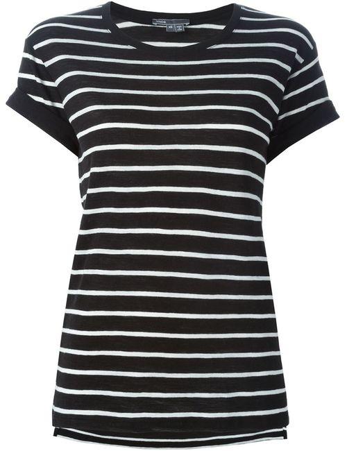 Vince | Женское Чёрный Striped T-Shirt