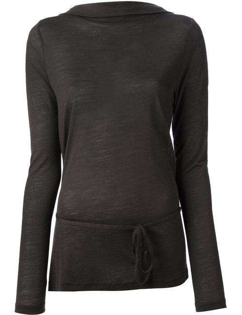 Ann Demeulemeester | Женское Зелёный Back Wrap Sweater