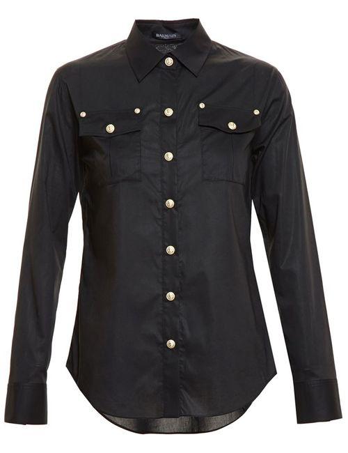 Balmain | Женское Чёрный Shirt With Buttons