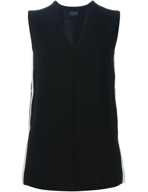 Lanvin | Женское Чёрный Sleeveless Top