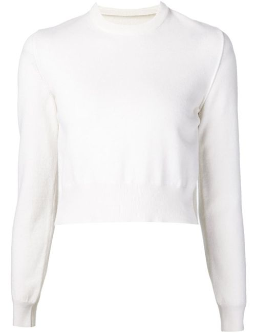 Maison Margiela | Женское Белый Two-Tone Sweater