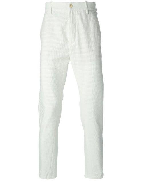 Ann Demeulemeester | Мужское Белый Curious Trousers