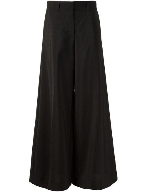 Vera Wang | Женское Чёрный Wide Leg Trousers