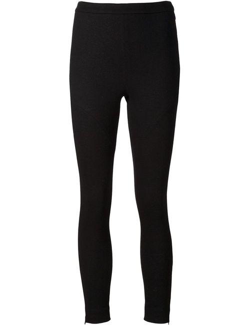 AUDRA | Женское Чёрный Cropped Skinny Trousers
