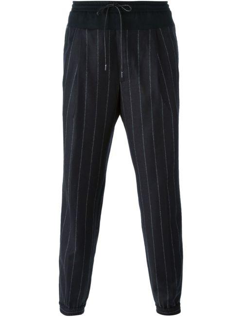 JUUN.J | Мужское Чёрный Pinstripe Drawstring Trousers