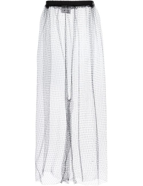 PHOEBE ENGLISH | Чёрный Fishnet Trousers