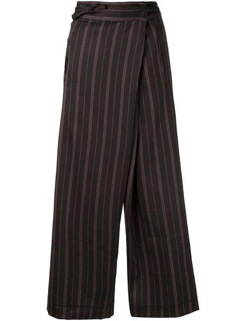 A TENTATIVE ATELIER   Чёрный Wide Leg Trousers