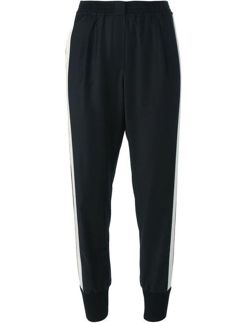 Lanvin | Черный Contrasted Stripe Track Trousers