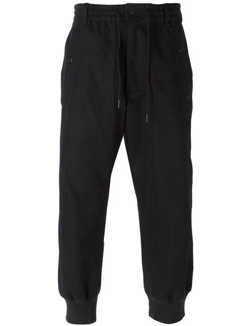 Y-3 | Мужское Черный Gathered Ankle Track Pants