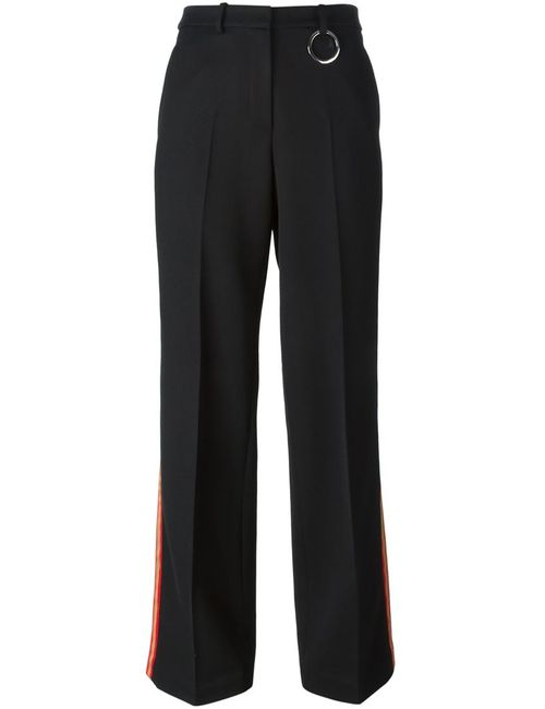 Ports | Чёрный Contrasted Stripe Trousers