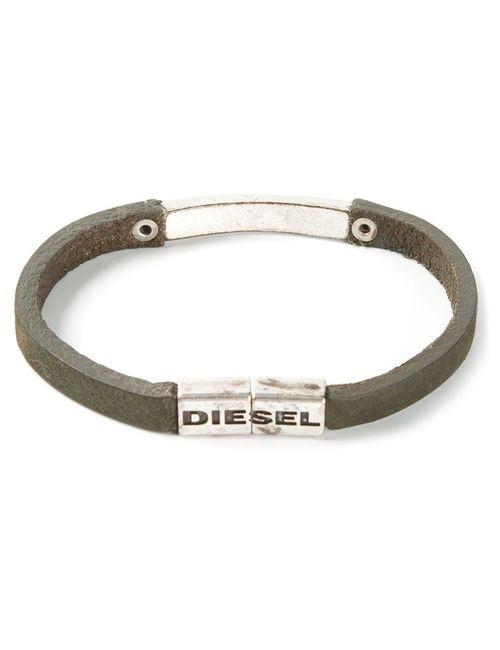 Diesel | Мужской Зелёный Браслет С Логотипом Arrox