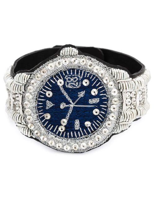 WALTER VAN BEIRENDONCK VINTAGE   Женское Woven Watch Bracelet