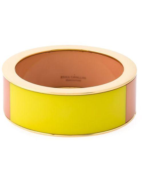 ERIKA CAVALLINI SEMICOUTURE | Женское Желтый Colour Block Bracelet