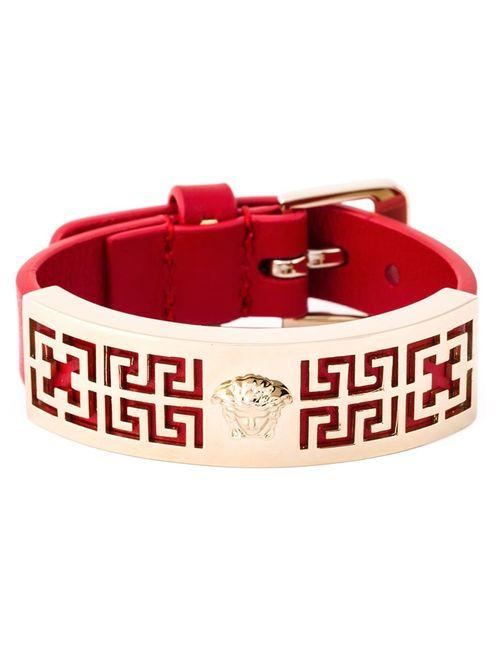 Versace | Женское Красный Greek Bracelet