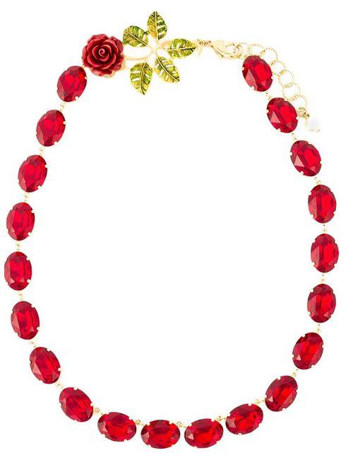 Dolce & Gabbana | Женское Красный Crystal Beads Necklace