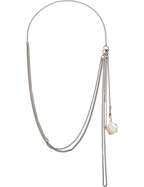 Ann Demeulemeester | Женское Серебристый Capsule Medallion Necklace