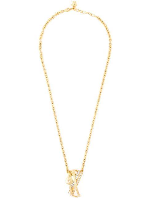 Versace | Женское Серебристый Greek Pendant Necklace