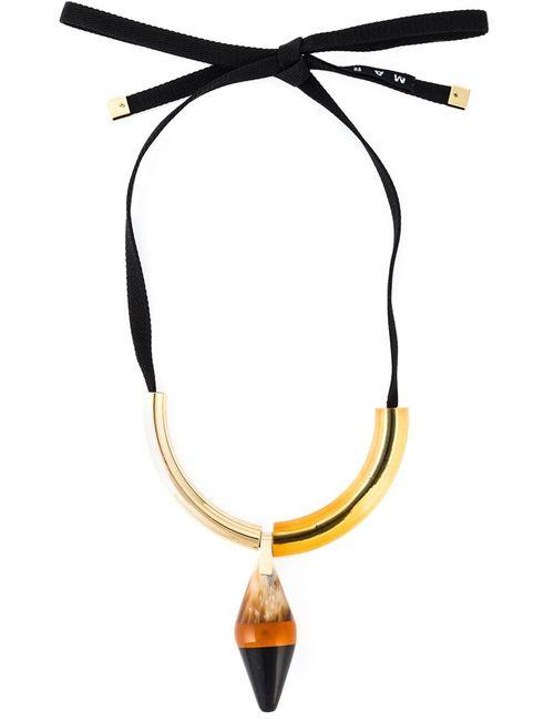 Marni | Женское Желтый Runway Necklace