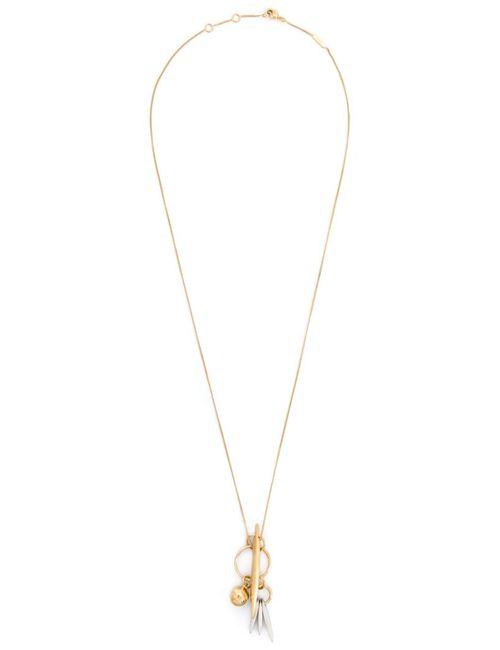 Chloe | Женское Желтый Charm Pendant Necklace