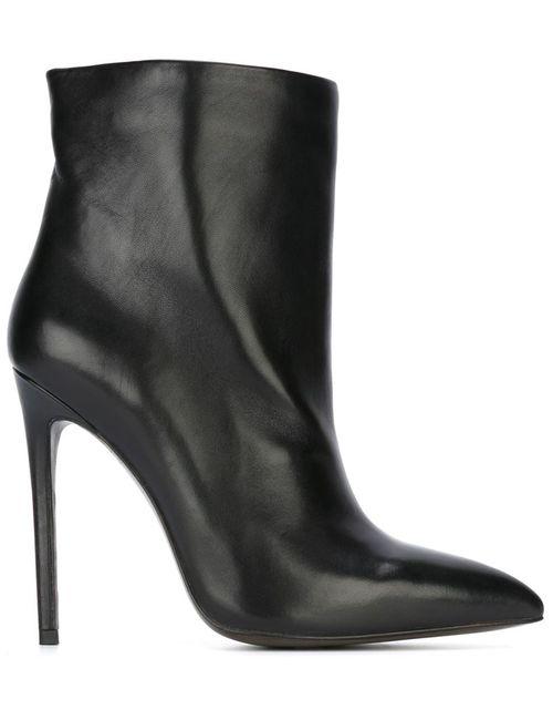 GIANNI RENZI | Женские Чёрные Ботинки По Щиколотку