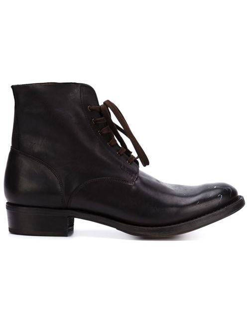 CHEREVICHKIOTVICHKI | Мужские Чёрные Ботинки На Шнуровке