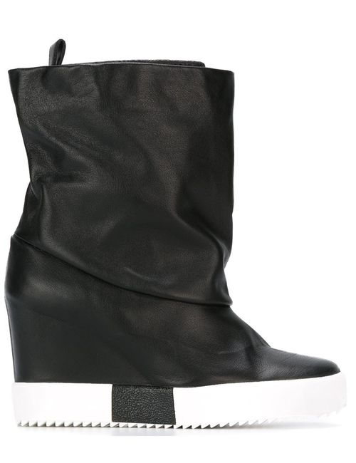 Giuseppe Zanotti Design | Женское Чёрный Concealed Wedge Boots