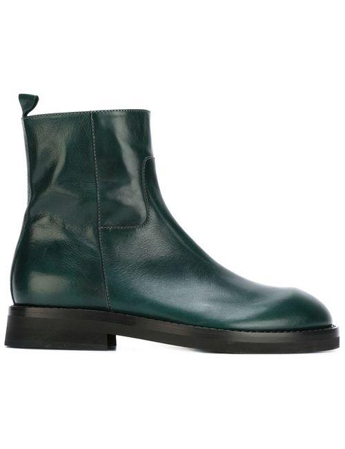 Ann Demeulemeester | Мужские Зелёные Ботинки По Щиколотку