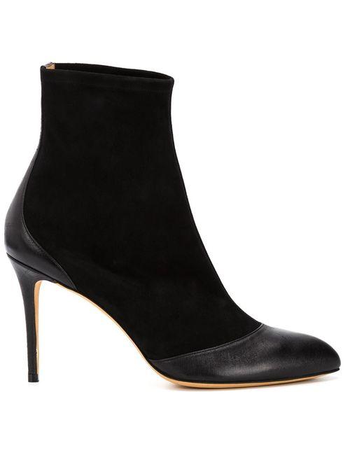 Alexa Wagner | Чёрный Sandra Boots