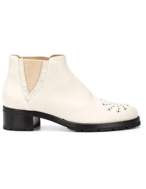 Alexa Wagner | Белый Tibi Boots