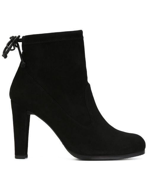 Stuart Weitzman | Женские Чёрные Ботинки По Щиколотку