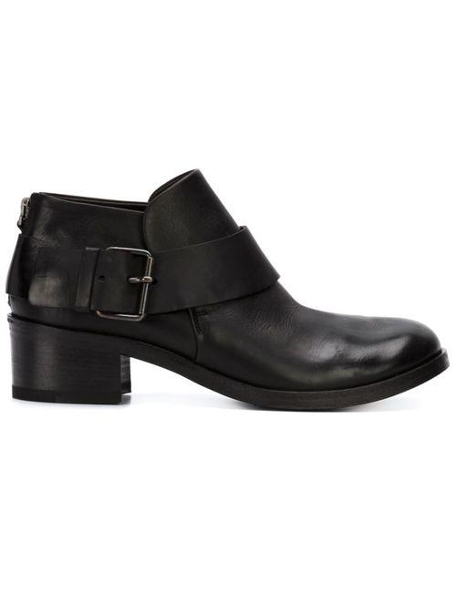 Marsell | Черный Buckled Ankle Boots