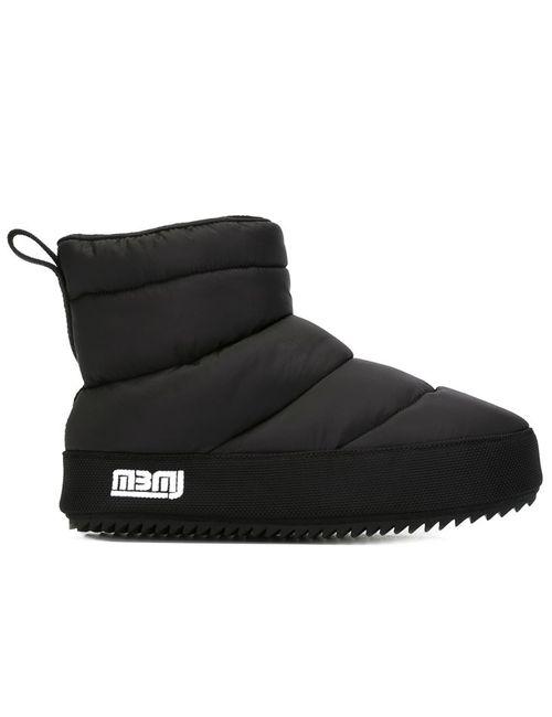 Marc by Marc Jacobs | Женские Чёрные Дутые Лыжные Ботинки