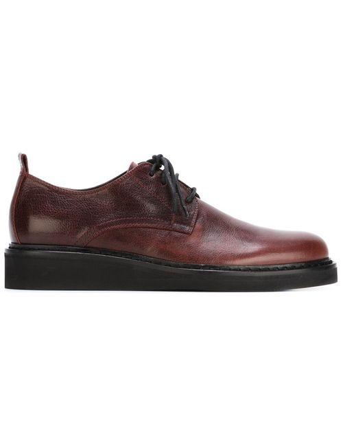Ann Demeulemeester | Мужские Красные Туфли С Потертым Эффектом