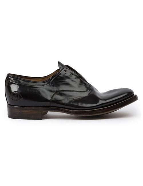 Premiata   Мужское Чёрный Leclaireur X Oxford Shoes