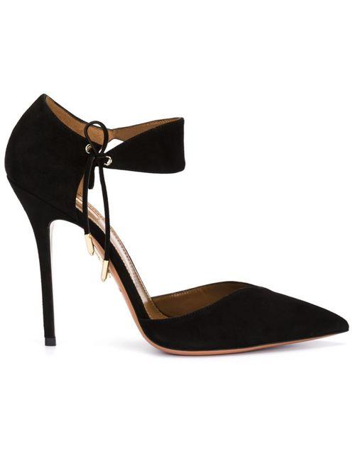 Aquazzura | Женские Чёрные Туфли Candela