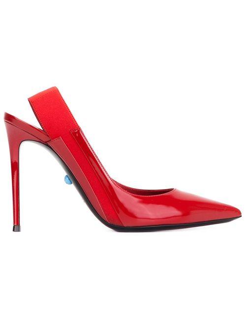 Philippe Model | Женские Красные Туфли Virginie