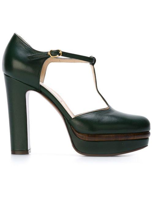 L' Autre Chose | Женское Зелёный Lautre Chose T-Bar Sandals