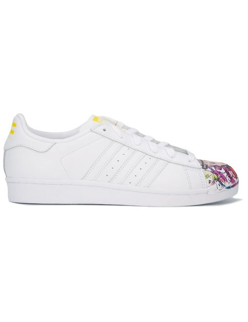 ADIDAS ORIGINALS BY PHARRELL WILLIAMS | Женские Белые Кеды Superstar Pharrell Supershell
