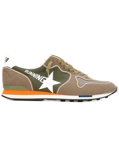 Golden Goose   Мужское Зелёный Deluxe Brand Running Sneakers