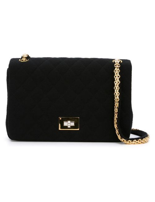 Chanel Vintage | Чёрная Сумка На Плечо Reissue 2.55