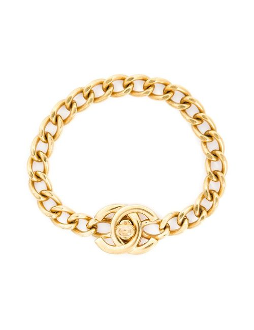 Chanel Vintage | Женское Желтый Chain Bracelet