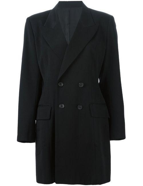 YOHJI YAMAMOTO VINTAGE | Мужское Черный Double Breasted Blazer