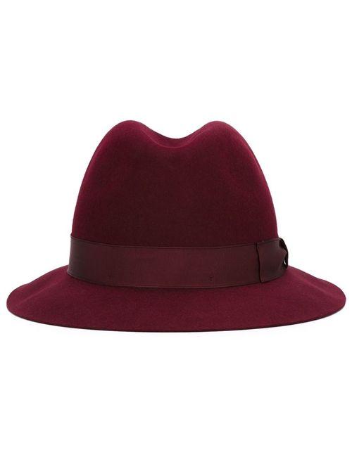 Borsalino | Мужская Красная Фетровая Шляпа