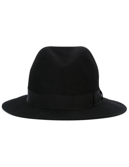 Borsalino | Мужская Чёрная Фетровая Шляпа
