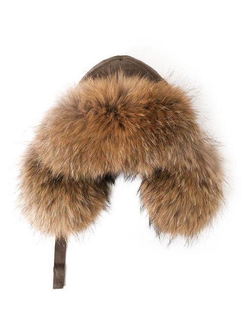 Yves Salomon | Женское Raccoon Fur Trapper Hat