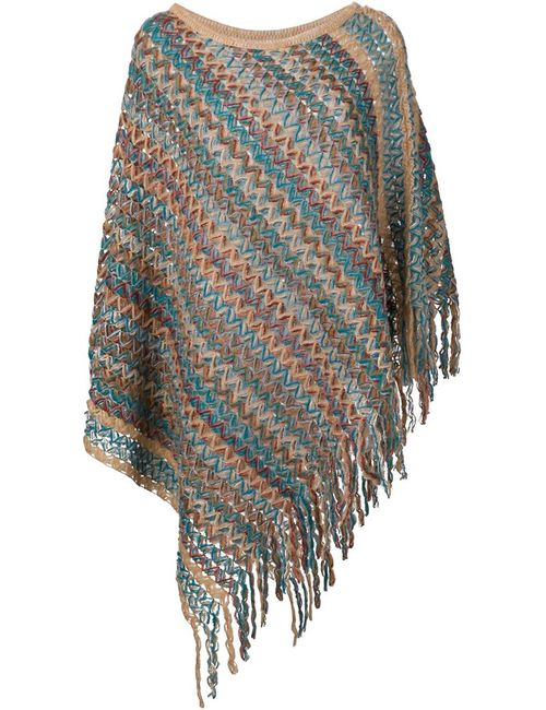 Missoni | Женское Nude & Neutrals Knitted Poncho