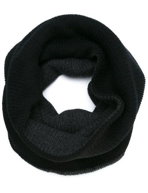 Forme D'Expression | Чёрный Вязаный Шарф-Хомут