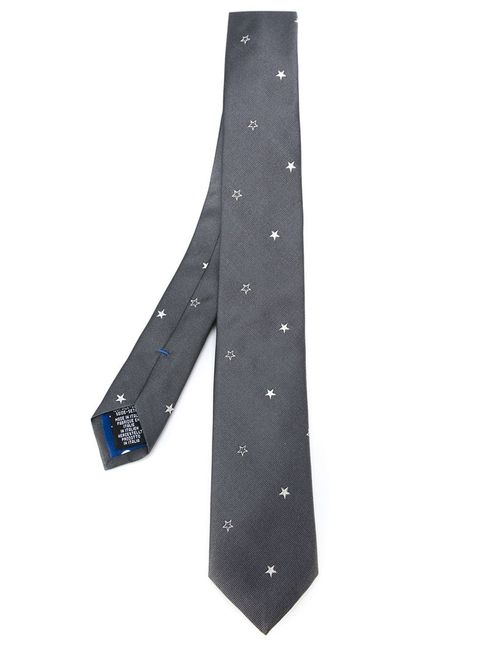 Paul Smith | Мужское Серый Embroidered Star Tie